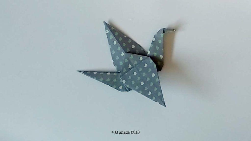 Cómo hacer una grulla de Origami