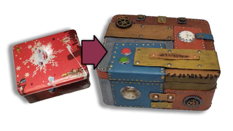 Cómo decorar una Caja Steampunk