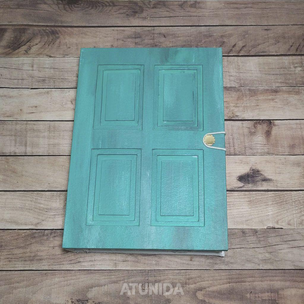 Diario Puerta al Corazón Turquesa