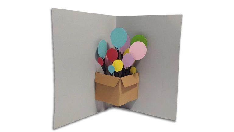 Tutorial de tarjeta con caja popup para cumpleaños