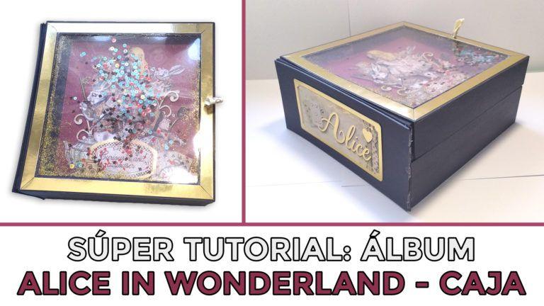 Tutorial Álbum Alice in Wonderland - Caja