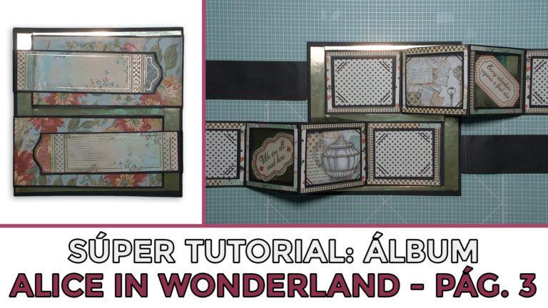 Tutorial Álbum Alice in Wonderland - Página 3