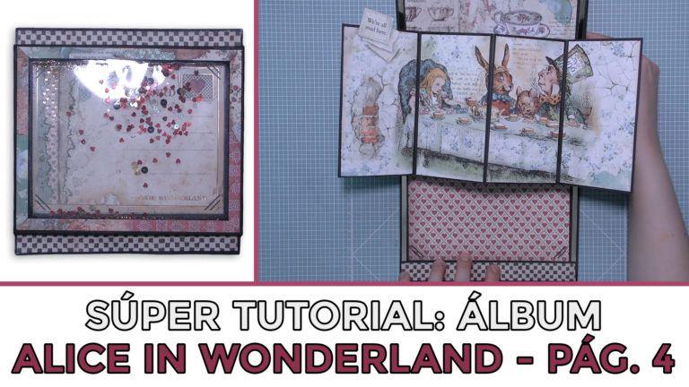 Tutorial Álbum Alice in Wonderland - Página 4