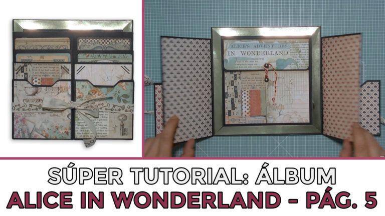 Tutorial Álbum Alice in Wonderland - Página 5