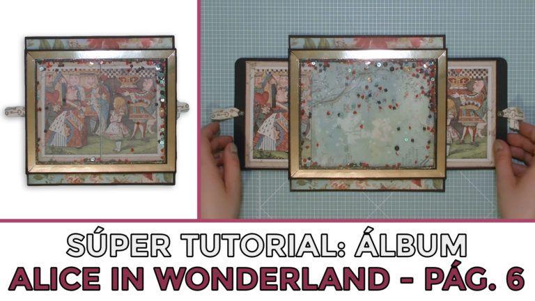 Tutorial Scrap Álbum Alice in Wonderland - Página 6