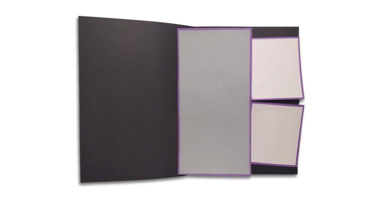 Cómo hacer una Tarjeta popup con dos paneles deslizantes ocultos