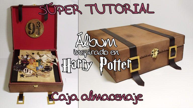 Tutorial Scrapbook Álbum inspirado en Harry Potter - Caja