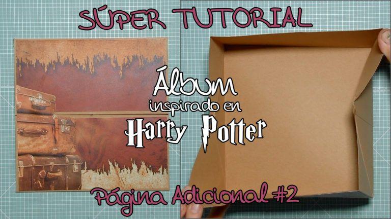 Tutorial Scrap Álbum inspirado en Harry Potter - Página Adicional 2