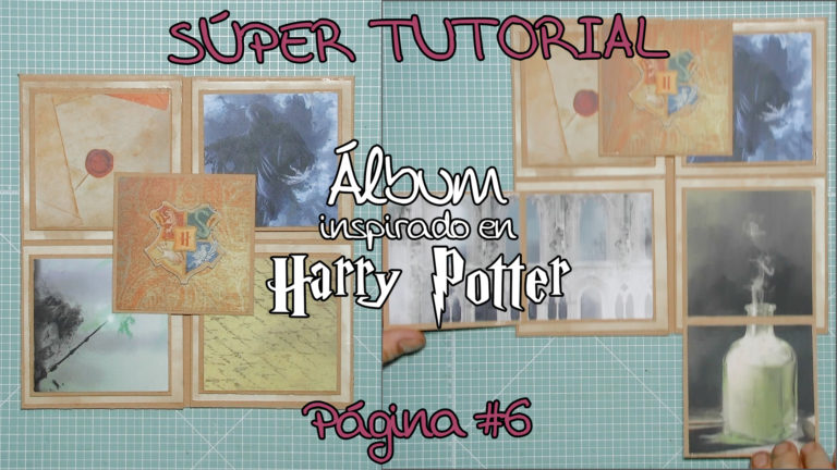 Tutorial Scrap Álbum inspirado en Harry Potter - Página 6
