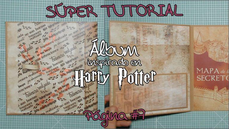 Tutorial Álbum inspirado en Harry Potter - Página 7