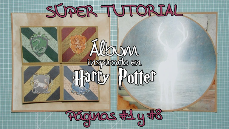 Álbum inspirado en Harry Potter - Páginas 1 y 8